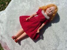 Vintage Doll Blonde with Blue Sleep Eyes