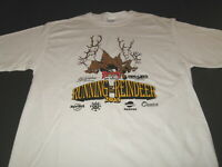 Rondy Running of the Reindeer 8th Annual 2015 Anchorage Alaska T-Shirt New LARGE