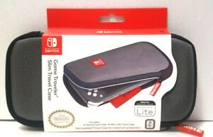 RDS Industries - Game Traveler Slim Travel Case for Nintendo Switch Lite Gray