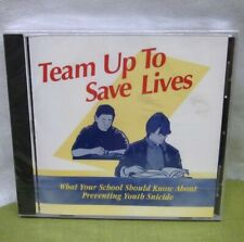 YOUTH SUICIDE educational Team Up to Save Lives school CD-Rom counseling NWT