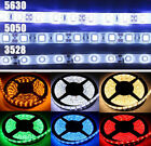 5M 3528/5050/5630 SMD 300Leds 12V LED Strips Light Waterproof Cool White RGB hot