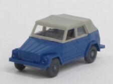 VW 181 geschlossen in capriblau, o. OVP, Wiking, 1:87