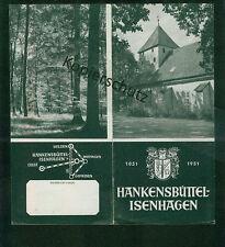 Altes Werbe-Faltblatt Hankensbüttel - Isenhagen 1952 Fotos Informationen