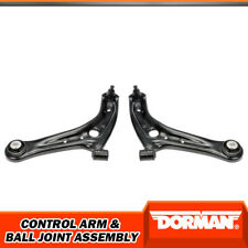Dorman Front Lower LH RH Control Arms with Ball Joints For Ford Fiesta 2011-2017