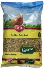 LM Kaytee Supreme Daily Blend Bird Food - Canary  2 lbs