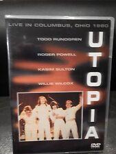 Utopia - Live in Columbus, Ohio 1980 (DVD, 2003)