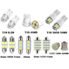 14Pc *White LED Interior Package Kit For T10&31mm Map Dome License Plate Lights
