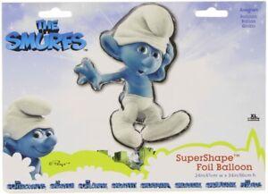 Anagram Super Shape Foil Helium Balloon Smurf