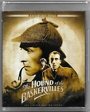 The Hound of the Baskervilles Twilight Time Blu Ray New All Regions Free Post