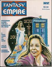 Fantasy Empire#4 1982 DOCTOR WHO LALLA WARD, DENNIS SPOONER AVENGERS