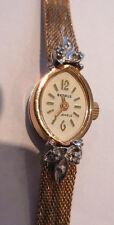 JOLIE MONTRE VINTAGE BENRUS PUW1175 MECANIQUE DE 21 RUBIS,1950 rénovation/pièces