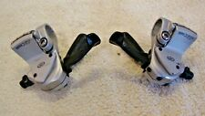 Retro pair of Shimano XT 9 speed mountain bike shifters