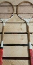 """2 Antique Classic """"all pro"""" wooden rackets"""