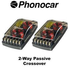 Phonocar 2-Way CROSSOVER PASSIVO 200 W di alta qualità dei componenti per altoparlanti NUOVO