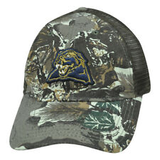 Ncaa Pittsburgh Panthers Camouflage Mesh Hat Cap Adjustable Garment Wash