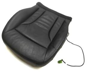 2009 AUDI Q5 8R LEFT FRONT DRIVER BOTTOM HEATED (BLACK LEATHER) SEAT CUSHION
