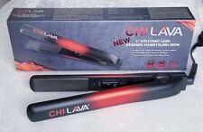 "CHI LAVA 1"" VOLCANIC LAVA CERAMIC HAIR STYLING FLAT IRON 450F professional"