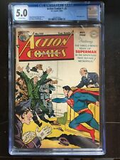 ACTION COMICS #125 CGC VG/FN 5.0; OW; Luthor app; Congo Bill (10/48)!