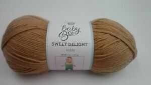 1 Skein Baby Bee Sweet Delight Teddy color   Hobby Lobby yarn
