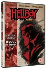Hellboy Animated Sword of Storms Blood and Iron 5060020704161 DVD Region 2