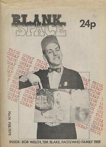 Blank Space issue 14 - February 1979 [UK] - Magazine