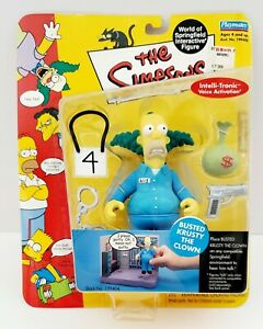 2002 The Simpsons Series 9 World of Springfield Busted Krusty the Clown Figure