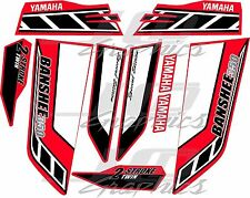 yamaha banshee graphics kit special edition red