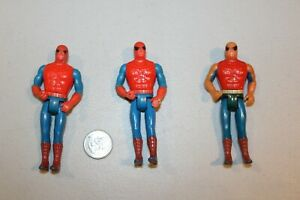 "U PICK 1975 MEGO Spider-man Pocket Super Heroes figures 4"" loose HTF 1970s NICE"