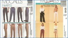 Lot of 2 McCalls Sewing Pattern Misses Pants Trousers Jeans Size 18