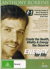ANTHONY ROBBINS, ENERGY Personal Coaching Collection. CD/DVD 2+1 Brand NEW