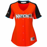 National League Majestic 2017 MLB All-Star Game Home Run Derby Jersey Orange