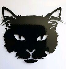 2x Cat Black Vinyl Stickers Decals Graphics Bike Laptop Window Halloween Car Van