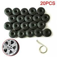 20X Wheel Bolt Nut Caps Covers For Volkswagen VW Golf Bora Passat Jetta 17mm