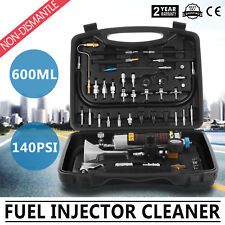 Auto C-100 Non-Dismantle Fuel System Cleaner Fuel Injector Tester cleaner USA