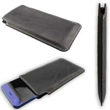 caseroxx Business-Line Case for Panasonic Eluga Z1 Pro in black made of faux lea