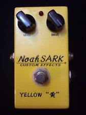 Custom Effect Noah Sark Yellow Overdrive Made In Japan