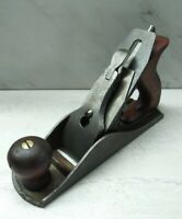 Vtg. LAKESIDE No. 4 Smooth Bottom Bench Plane * For Parts or Repair