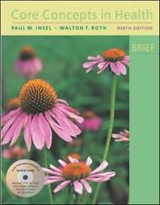 Core Concepts in Health BRIEF (CD-ROM included), Paul M. Insel, Good Book