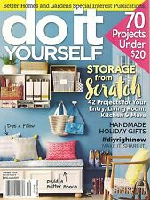 bh&g DO IT YOURSELF Winter 2015 DIY 70 Home Projects Plans Kitchen under$20 cPIC