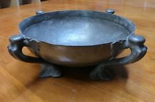 Tudric Pewter Rose Bowl designed by Oliver Baker 1905