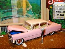 1955 CADILLAC FLEETWOOD LIMITED EDITION 1/64 1950'S CLASSIC PINK ELVIS CADDY