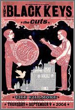 Mint Original 2004 Black Keys San Francisco Fillmore Concert Poster Bgf628 Aomr