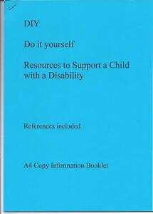 DIY Resources for autism, disability & slow learners