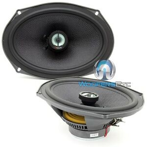 "FOCAL OEM.690CA1.SG 6x9"" 150W RMS ALUMINUM TWEETERS ACCESS COAXIAL SPEAKERS NEW"