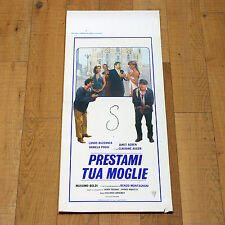 PRESTAMI TUA MOGLIE locandina poster Boldi Lando Buzzanca Duomo Milano AN88