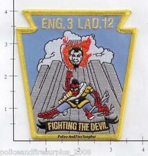 New York City NY Fire Dept Engine 3 Ladder 12 Patch v8  Spiderman