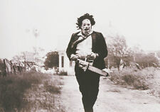 Stampa incorniciata-cuoio con motosega Texas Chainsaw Massacre 1974 (immagine)