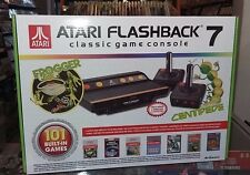 Atari Flashback 7 Frogger Centipede Classic Game Console 101 Games Built-in