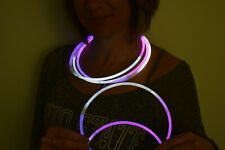 DirectGlow 150ct White/Pink/Purple 22 inch Glow Necklaces Preattached Connectors