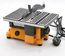 "Mini 4"" Electric Table Bench Saw DIY Wood Metal Working Cutting Tool 220v"